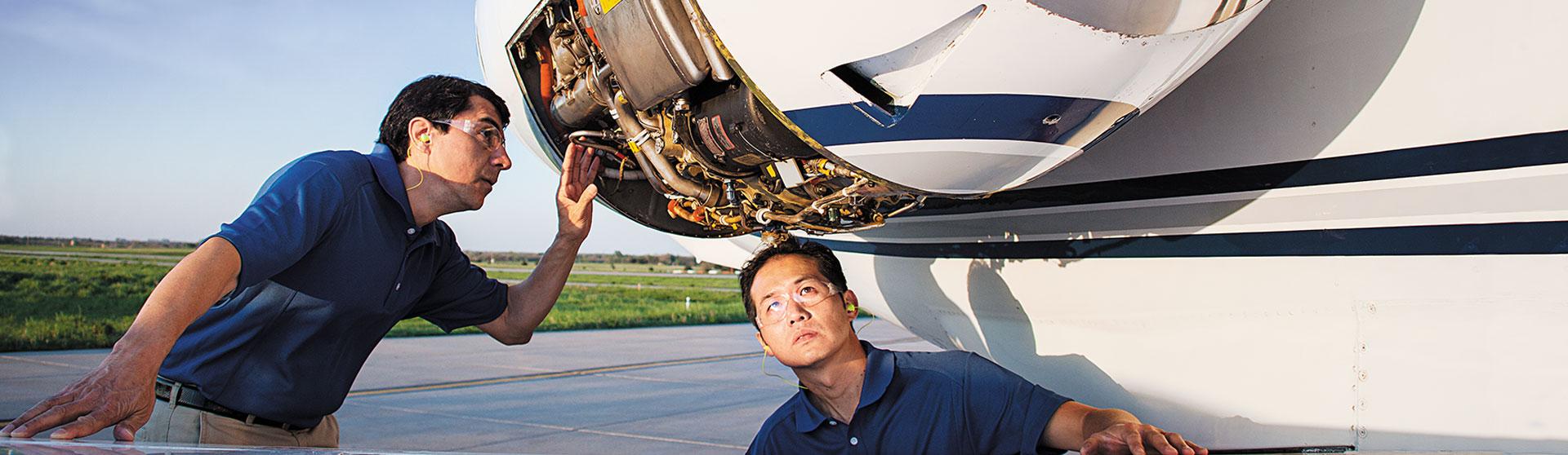 TFE731 Engine Maintenance | World Class Aircraft Engine Services